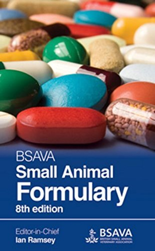 Bsava small animal formulary 8th edition - WWW.VETBOOKSTORE.COM