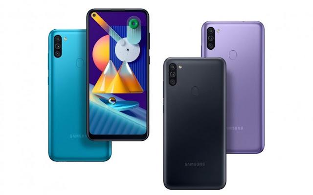 Samsung galaxy m11 colors