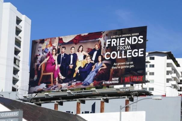Friends From College season 2 billboard