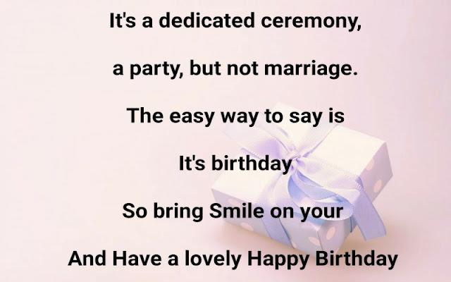 Happy Birthday quotes in English