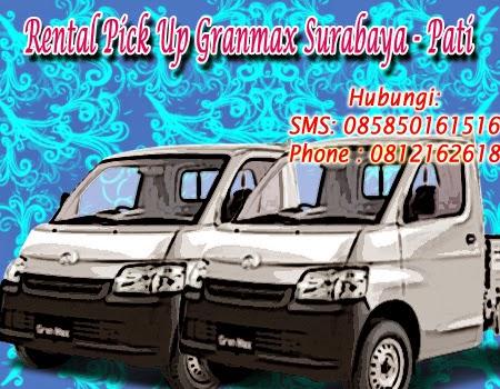 Sewa Pick Up Granmax Surabaya - Pati