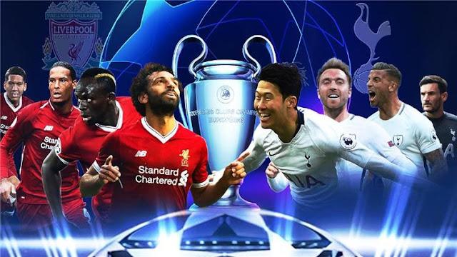 احتلال أفريقي علي نهائي دوري أبطال أوروبا بين ليفربول وتوتنهام