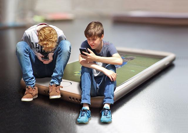 smartphone, niños
