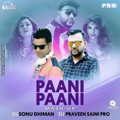 Paani Paani (Remix) DJ Sonu Dhiman X DJ Praveen Saini Pro