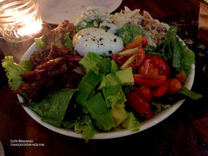 Salad at Wildflour Cafe + Bakery