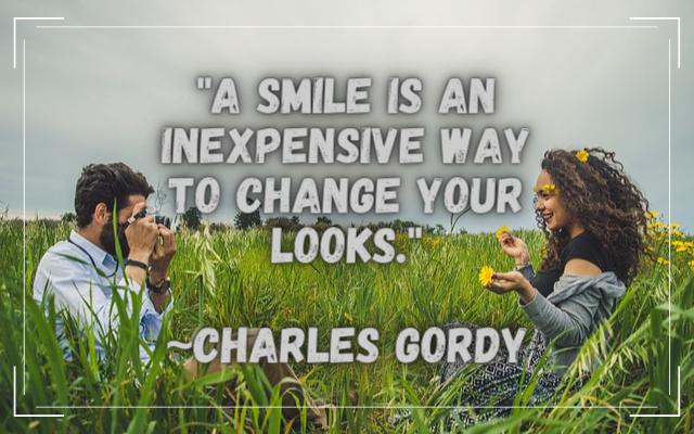 romantic smile quotes