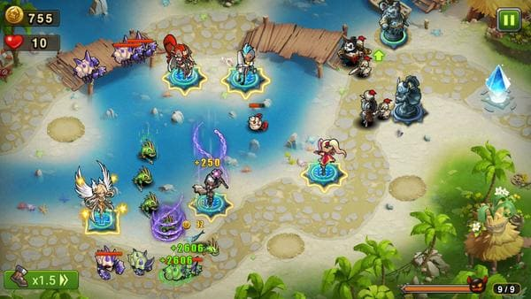 Magic Rush: Heroes – Defesa de torres com heróis