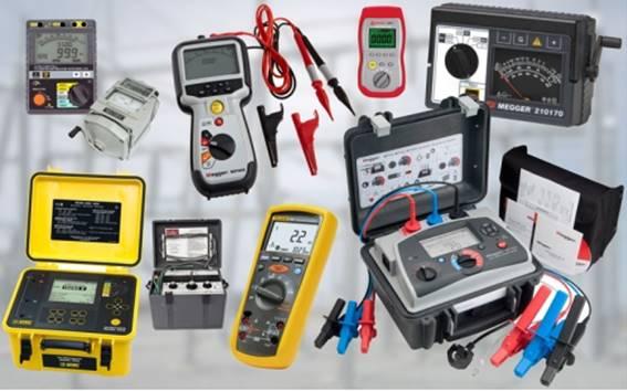 شرح أجهزة القياس الكهربائية