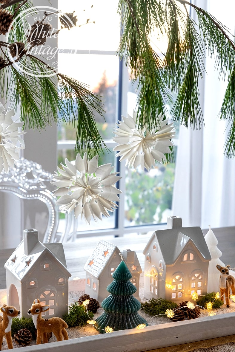 Stimmungsvolles Weihnachtsdorf selber machen