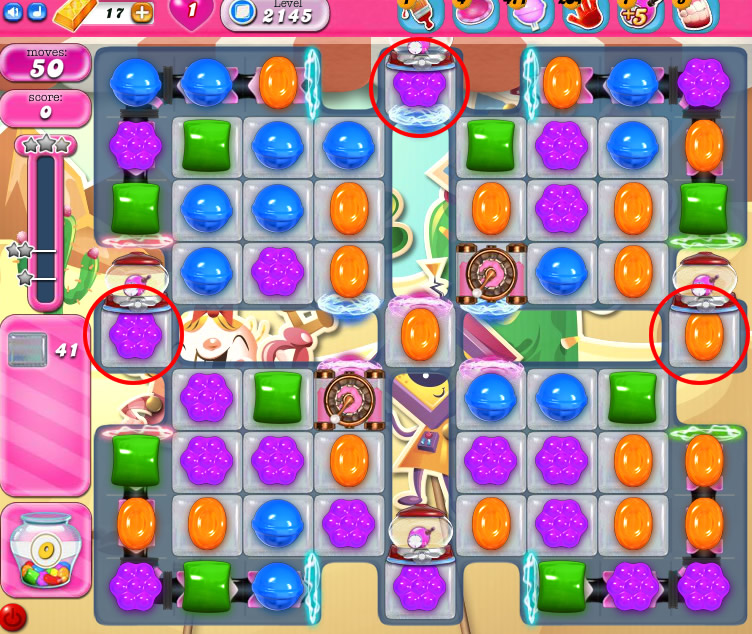 Candy Crush Saga level 2145