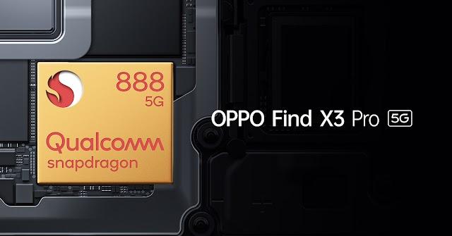 เตรียมสัมผัสประสิทธิภาพของแฟล็กชิพที่แท้จริง Qualcomm® Snapdragon™ 888 บนสมาร์ทโฟนแฟล็กชิพของออปโป้รุ่นล่าสุด OPPO Find X3 Pro 5G