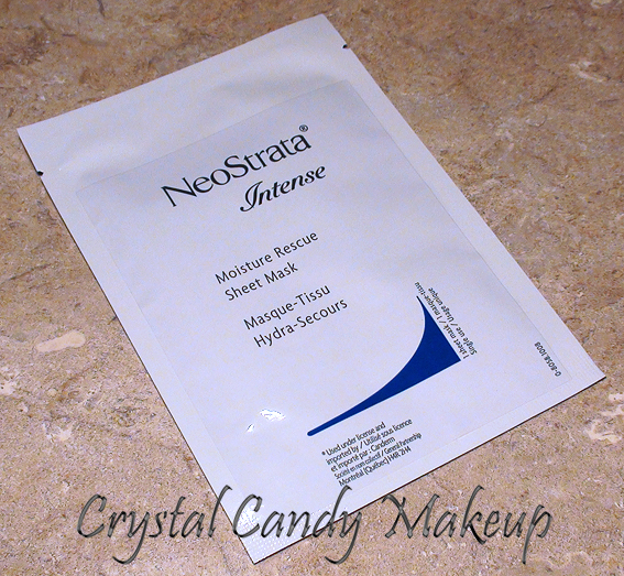 NeoStrata Moisture Rescue Sheet Mask (English review)