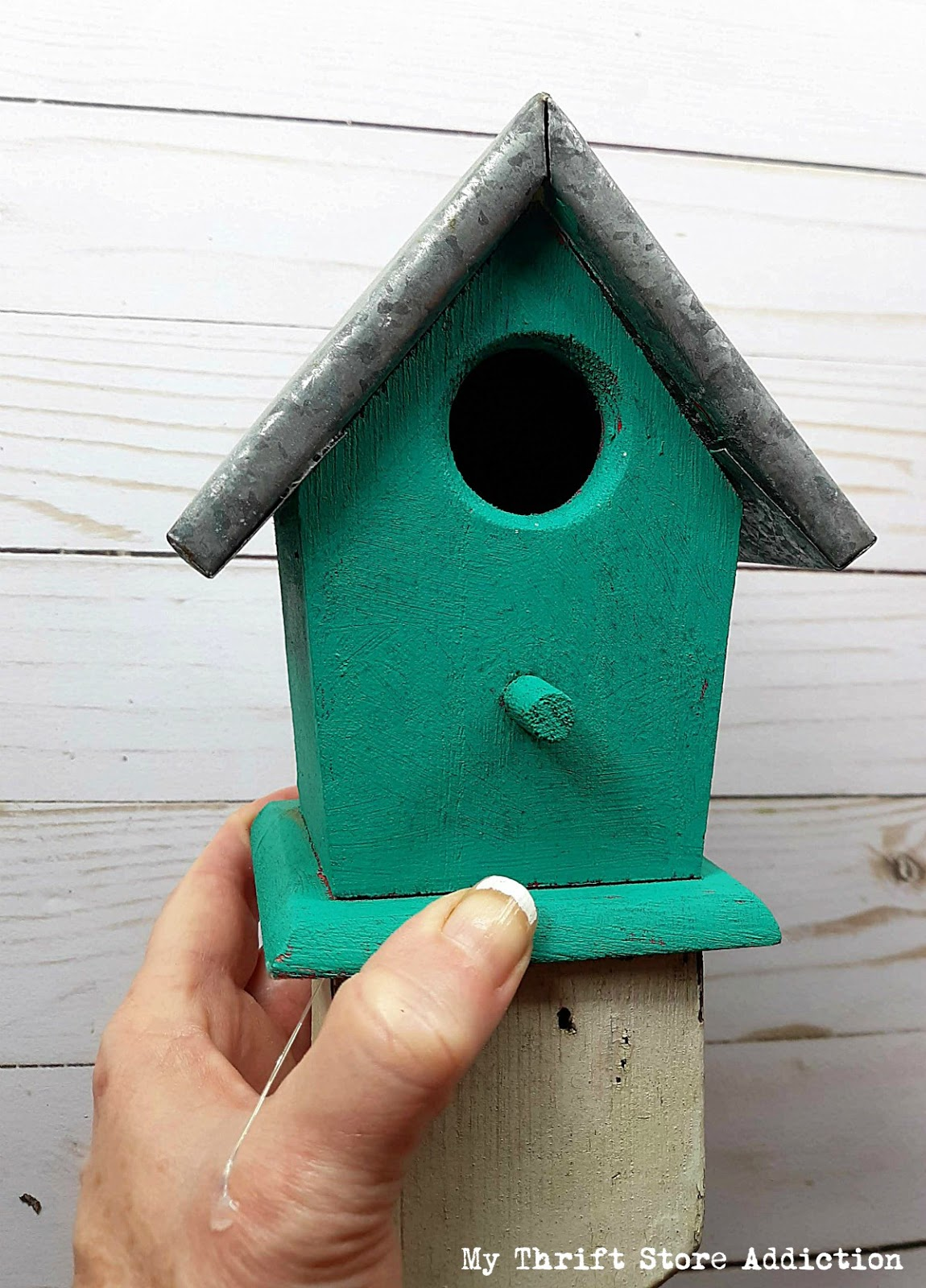 DIY baluster birdhouse