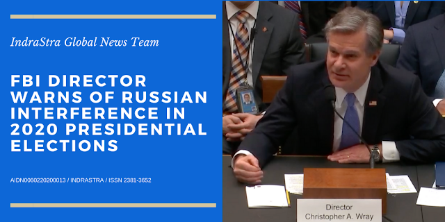 Cover Image Attribute: FBI Director Christopher Wray testifies before the House Judiciary Committee on Feb. 5, 2020. / Source: House Judiciary Committee video