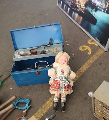 Vintage doll. Photography by Rachel Hancock @retrogoddesses