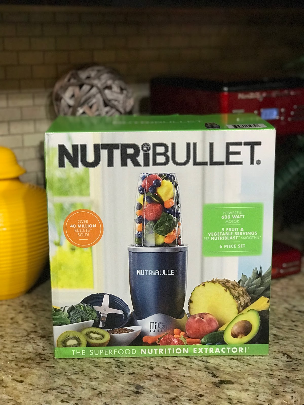 Image: NutriBullet purchased and shared in a haul on weekend bits and favorites. This item will be used for making veggie and fruit smoothies.