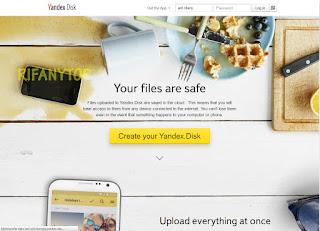 Yandek Disk Situs Penyimpanan Data Onlene Terbaik Rifanytop