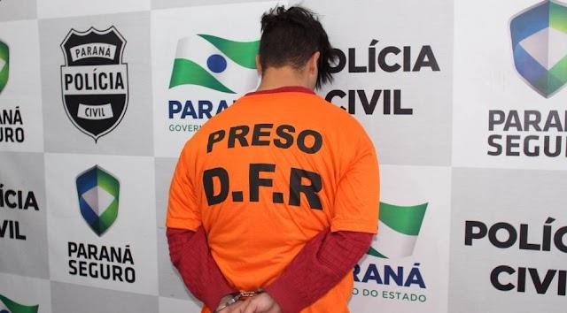 Homem é preso depois de realizar mais de 20 assaltos em um mês