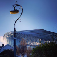 Virtual tour of Dublin: lamppost and Aviva Stadium