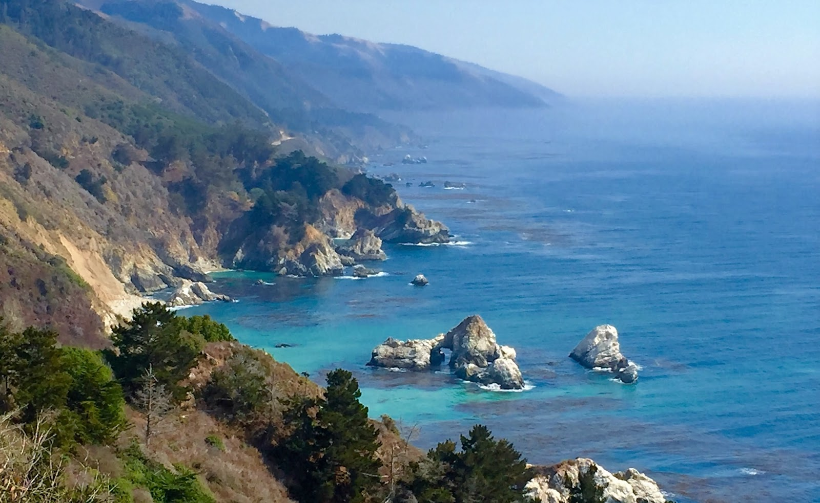 Blogging By Robert Vegas Bob Swetz: Pfeiffer State Park Big Sur California by Robert Swetz