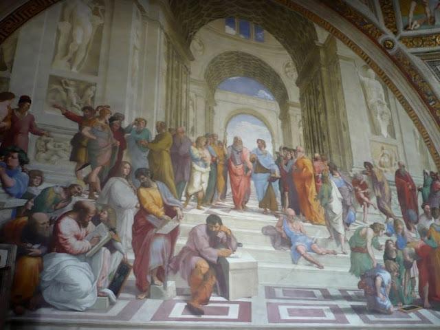 scuola di Atene di Raffaello