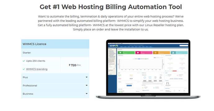 Web Hosting Billing Automation Tool