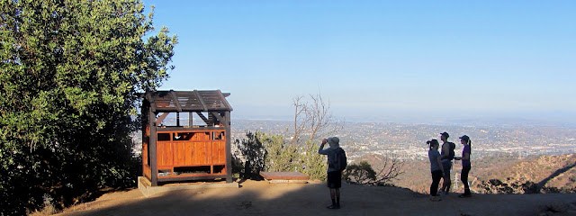 Griffith Park Teahouse near Mount Bell, July 24, 2015