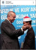 Gubernur dan Bupati Bima Bangga, Syamsuri Juara 1 MTQ Internasional ke-7 Turki