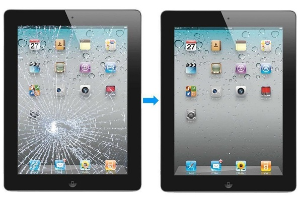Thay mặt kính iPad mới