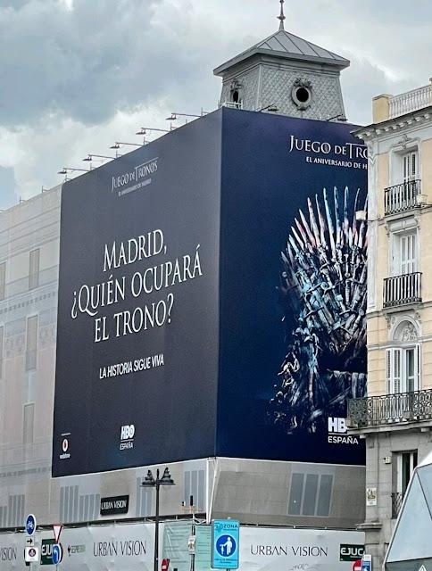 Cartel Juego de Tronos Elecciones Madrid