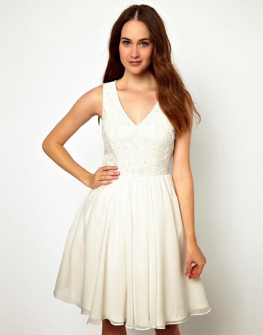 Patrón gratis  vestido corto de fiesta 53938b38dde4