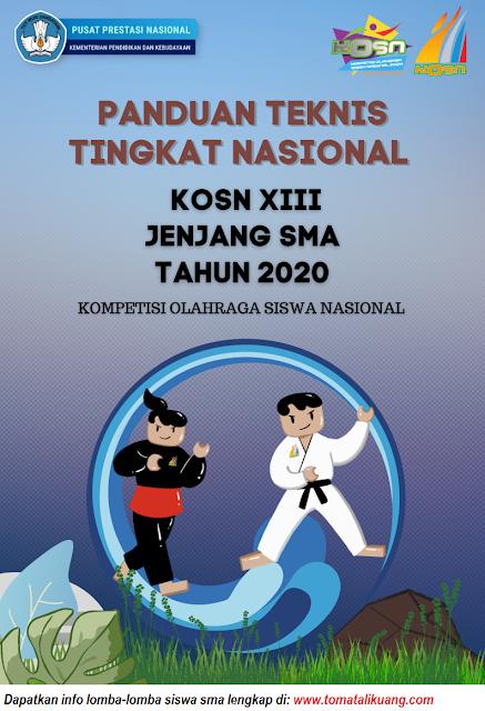 panduan teknis kosn o2sn sma tingkat nasional tahun 2020 pdf tomatalikuang.com