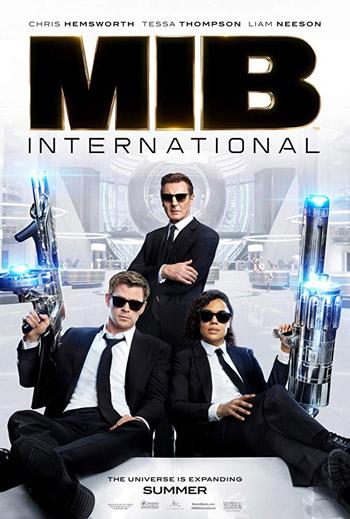 Men in Black International 2019 Dual Audio Hindi NEW HC-TC V2 480p 300MB movie poster