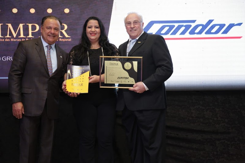 Condor é eleito como o preferido dos curitibanos pelo 10º ano consecutivo