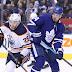 Toronto Maple Leafs vs Edmonton Oilers home