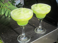 Frozen Key Lime Daiquiris