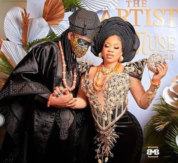 Toyin Lawani traditional wedding photos