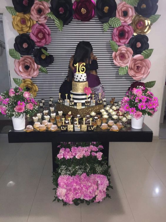 sweet 16 decorations