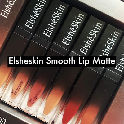 [REVIEW & SWATCHES] Elsheskin Smooth Lip Matte All Shades