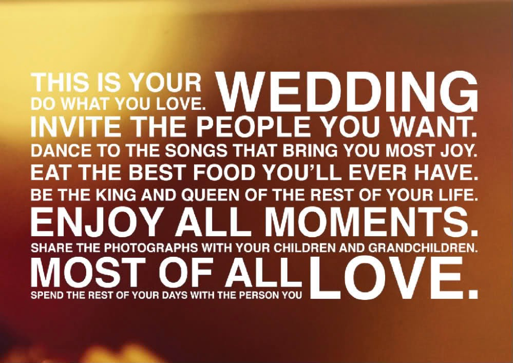 Wedding Speeches and Wedding Quotes