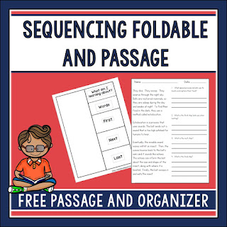 Teaching with procedural texts helps students learn and recognize how to sequence information. In this post, mentor texts are shared as well as other free resources for teaching kids to sequence information.