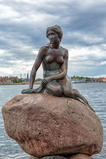 (One of the mermaid statue) NUDES