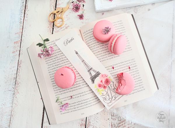 macarons-nesquik-fresa-crema-queso-rosa-pink-strawberry-macaron-paris-amor
