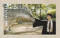 Selo Harry Potter e o Hipogrifo Bicuço