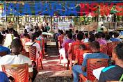 Ikatan pelajar dan mahasiwa distrik Agisiga se-kota study Jayapura, melaksanakan Ibadah perayaan Natal.