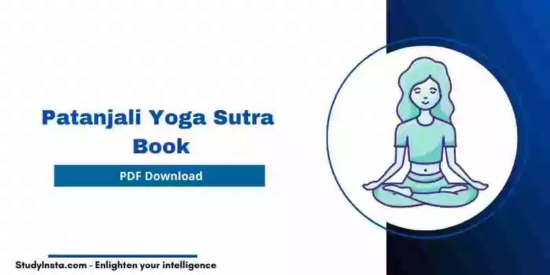 Patanjali Yoga Sutra Book PDF - Hindi