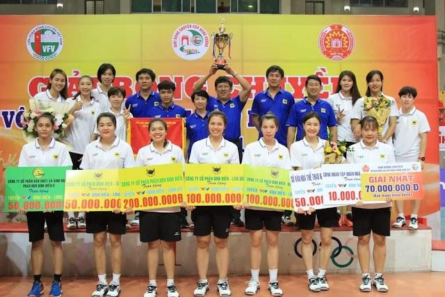 Bình Điền Long An đăng quang cúp Hùng Vương 2021