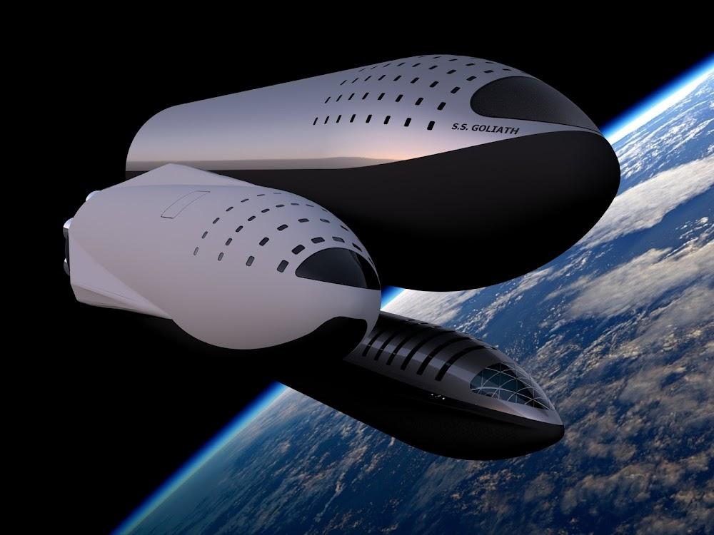 SpaceX 18m Starship vs 12m Starship (ITS) vs 9m Starship by Dale Rutherford