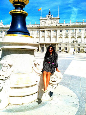 Rina in Spain for Study Abroad