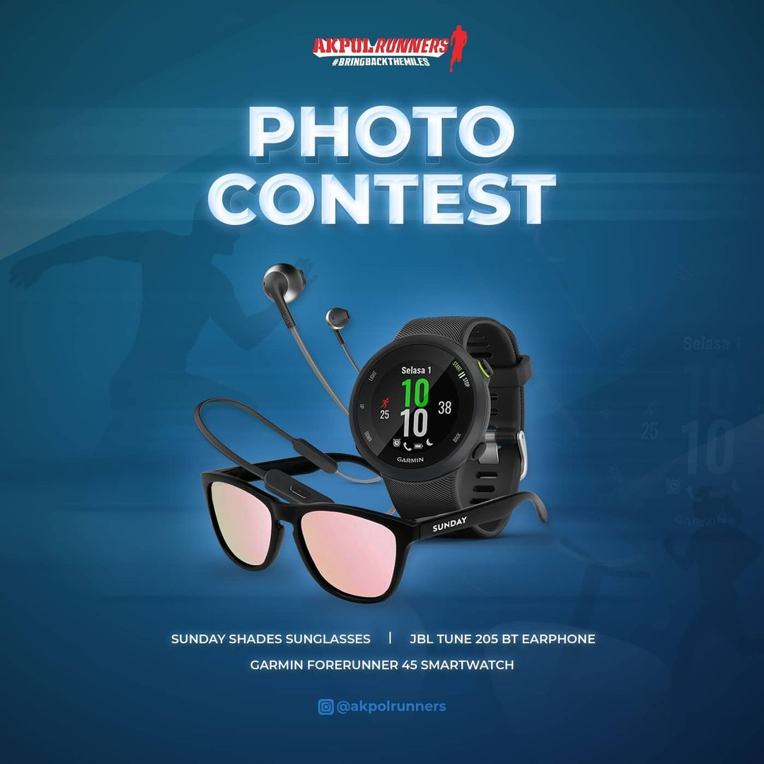 Contest � Akpol Runners 1st Anniversary • 2021